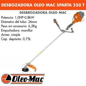 Desbrozadora Oleo Mac SPARTA 250 T