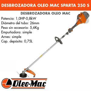 Desbrozadora Oleo Mac SPARTA 250 S
