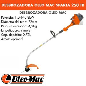 Desbrozadora Oleo Mac Sparta 250 TR