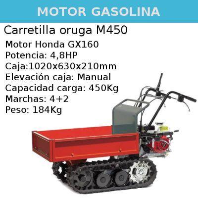 Carretilla oruga Benassi M450