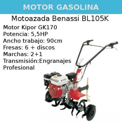 Motoazada Benassi BL105K