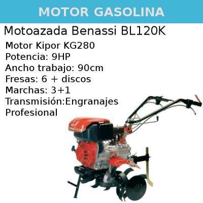 Motoazada Benassi BL120K