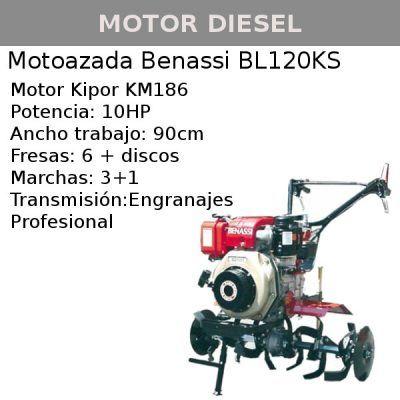 Motoazada Benassi BL120KS
