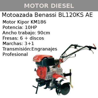 Motoazada Benassi BL120KS AE