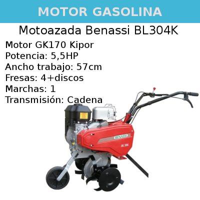 Motoazada Benassi BL304K