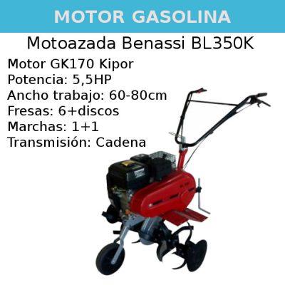 Motoazada Benassi BL350K