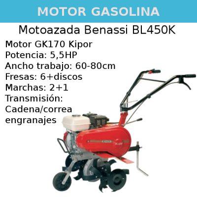 Motoazada Benassi Bl450K
