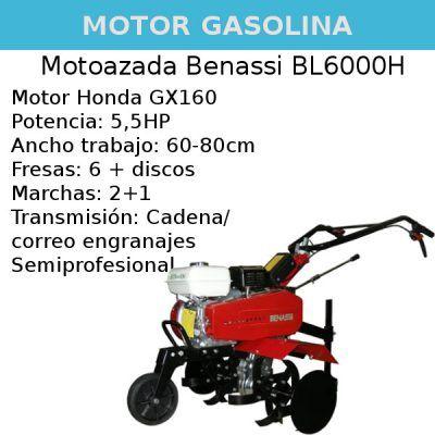 Motoazada Benassi BL6000H