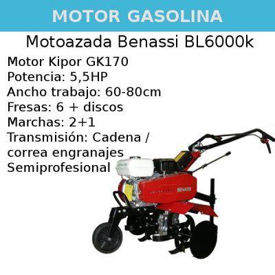 motoazada Benassi BL6000K