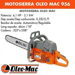 motosierra oleo mac 956 18