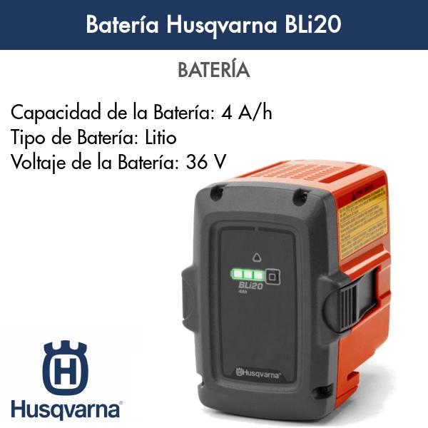 Batería Husqvarna BLi20