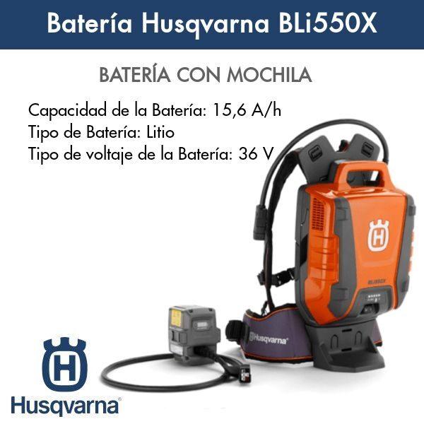 Bateria Husqvarna BLi550x