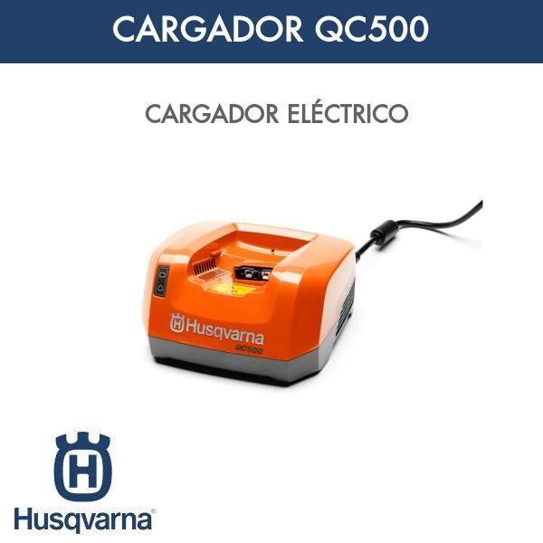 Cargador Husqvarna QC500