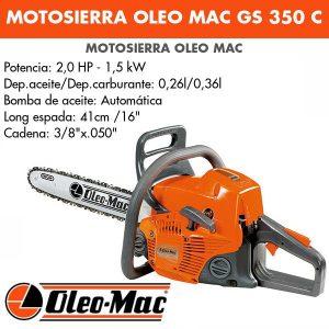 Motosierra Oleo Mac GS350C