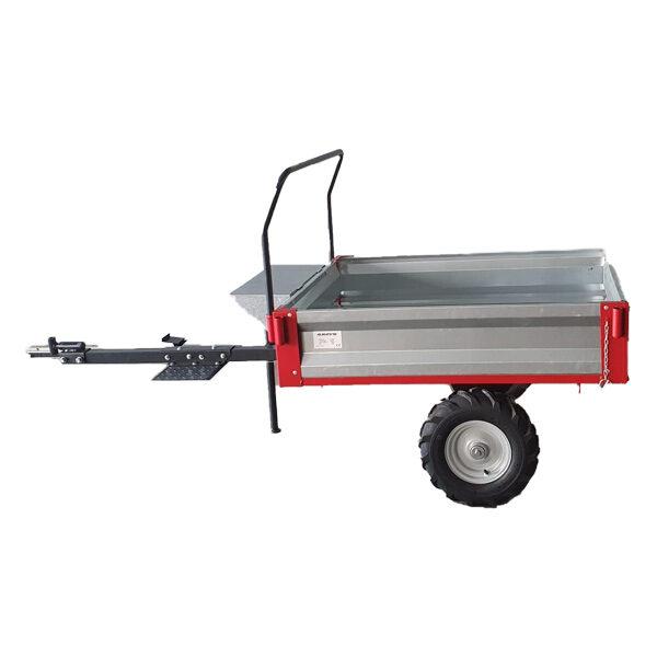 Tipping trailer for Anova MC500-120 tiller