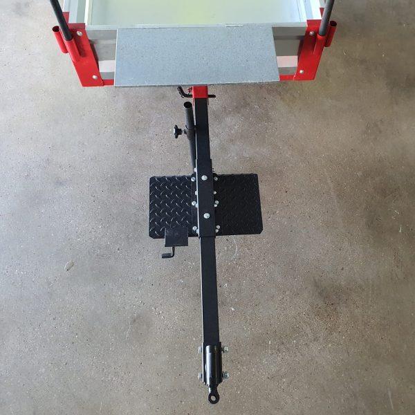 Remolque basculante para motoazadas Anova MC500-120