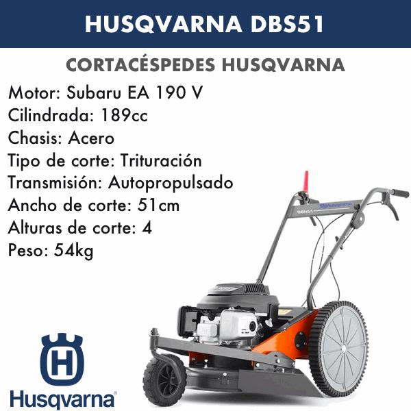 Cortacesped Husqvarna DBS51