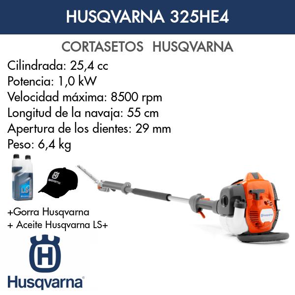 Cortasetos Husqvarna 325HE4