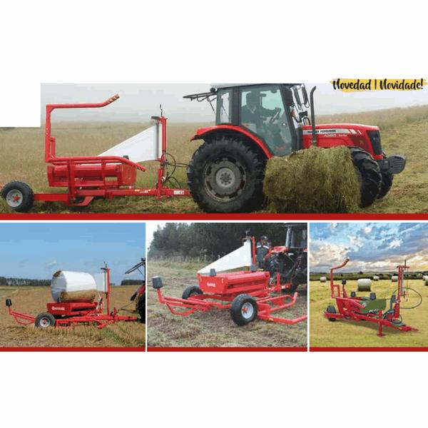 Encintadora suspendida tractor BW 200
