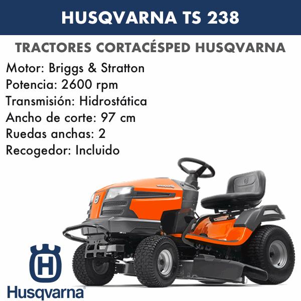 HUSQVARNA TS238