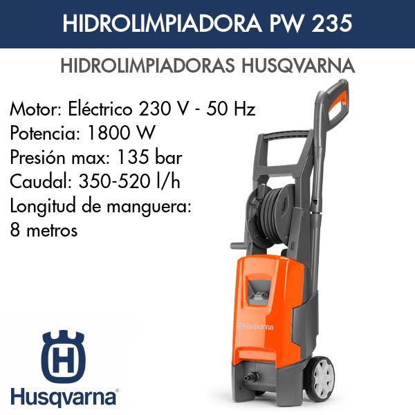Hidrolimpiadora Husqvarna PW 235