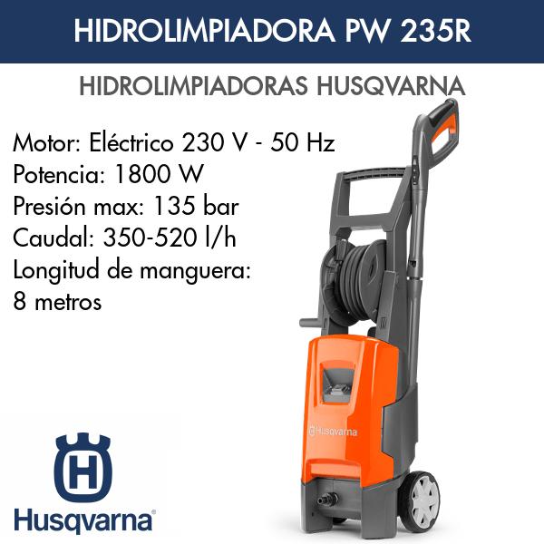 Hidrolimpiadora Husqvarna PW 235R