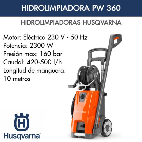 Hidrolimpiadora Husqvarna PW 360
