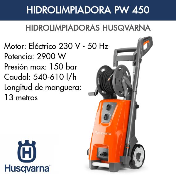 Hidrolimpiadora Husqvarna PW 450