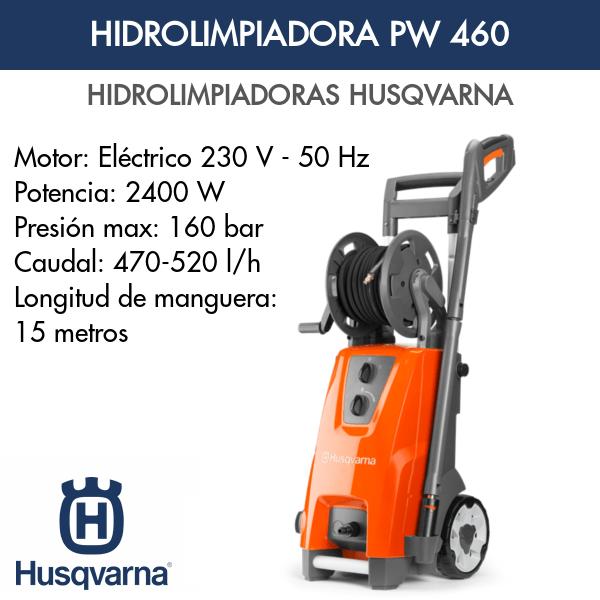 Hidrolimpiadora Husqvarna PW 460