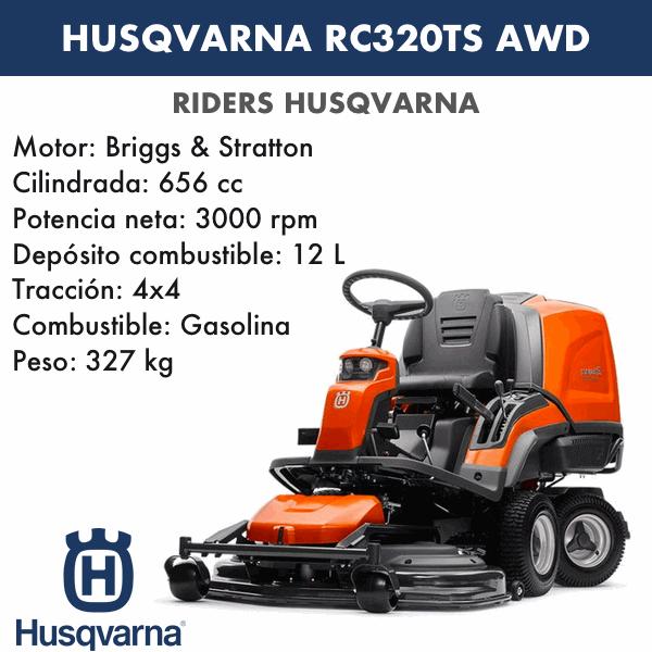 Rider Husqvarna RC320Ts AWD