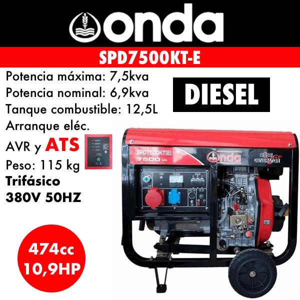 SPD7500KT-E