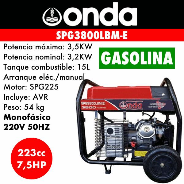 SPG3800LBM E