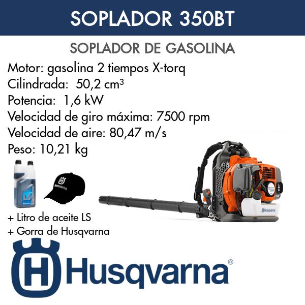 Soplador Husqvarna 350BT