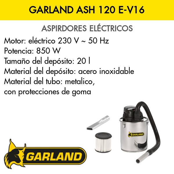 Aspirador Garland ASH 120 E-V16