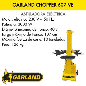 Astilladora Garland Chopper 607 VE