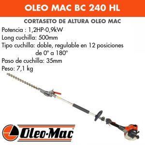 Cortasetos de altura Oleo Mac BC 240 HL