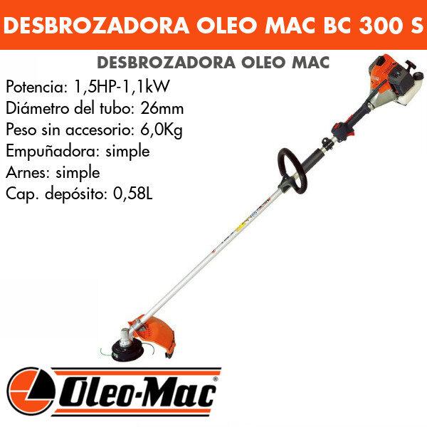 Desbrozadora Oleo Mac BC 300 S