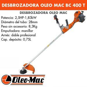 Desbrozadora Oleo Mac BC 400 T