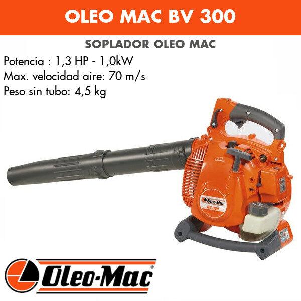 Soplador Oleo Mac BV 300 Chrome