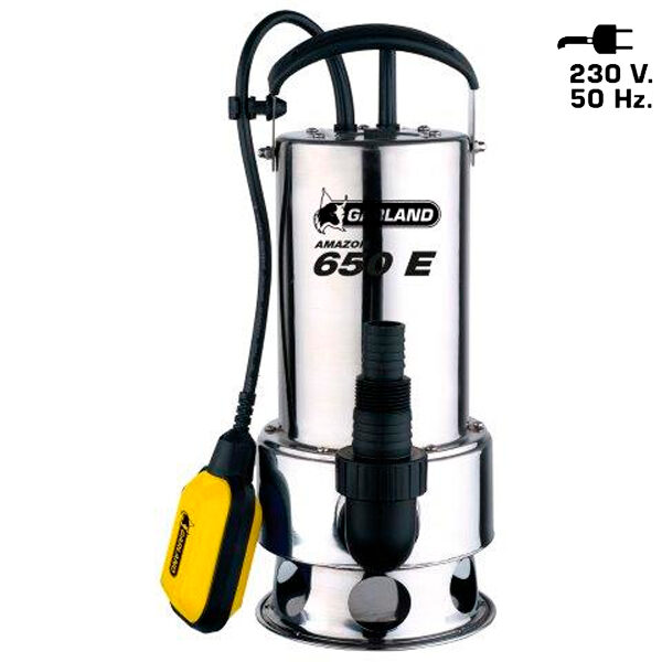 Garland Amazon 650 XE 750W Wasserpumpe 3.700L/h Max. Förderhöhe 8M
