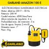 Bomba de agua sumergible eléctrica Garland AMAZON 100 E