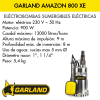 Bomba de agua sumergible eléctrica Garland AMAZON 800 XE