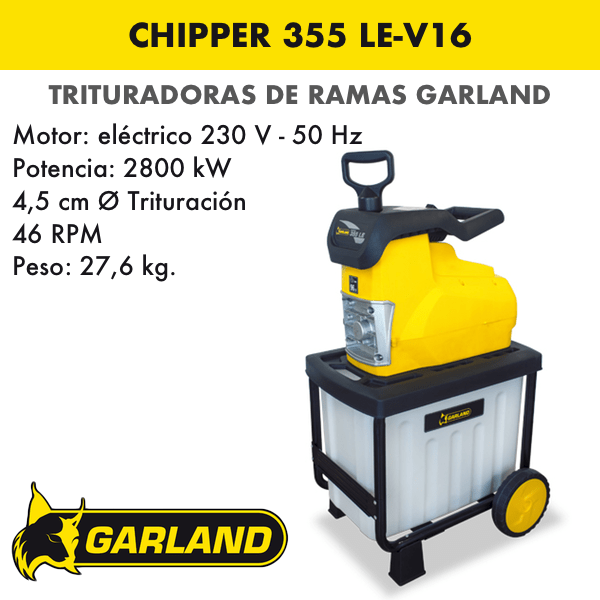 CHIPPER 355 LE-V16