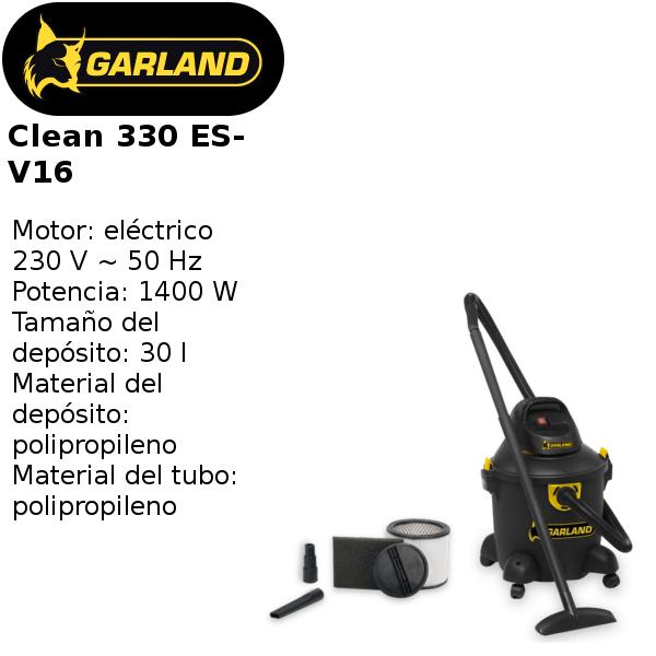 aspirador garland clean 330 es-v16
