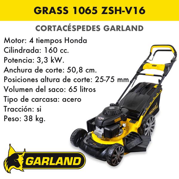 Cortacésped Garland Grass 1065 ZSH-V16