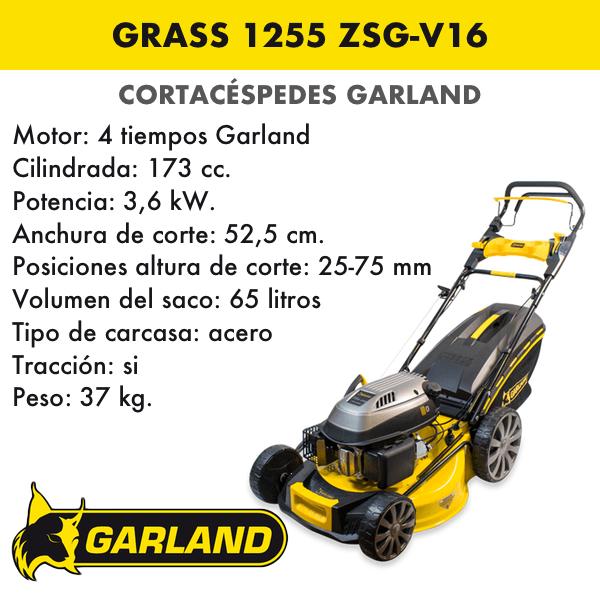 Cortacésped Garland Grass 1255 ZSG-V16