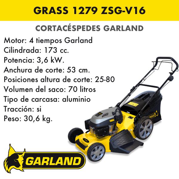 Cortacésped Garland Grass 1279 ZSG-V16