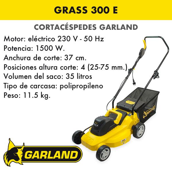 Cortacésped Garland Grass 300 E
