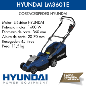 Cortacespedes HYundai LM3601E