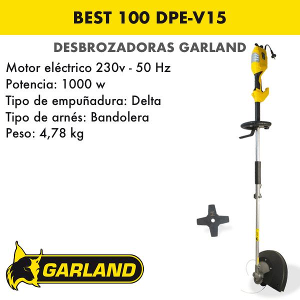 Desbrozadora Garland Best 100 DPE-V15